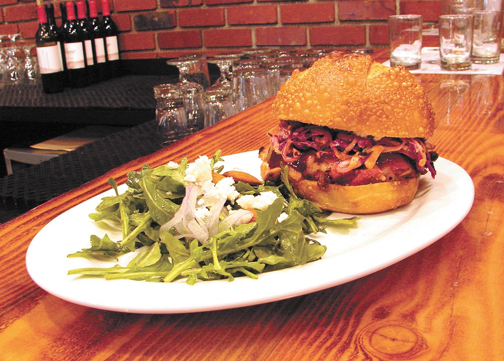 Come for the beer, but don't overlook the sandwich lineup at Daft Badger.