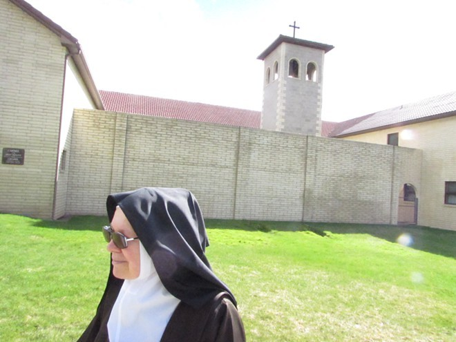 Sister Marie Joseph says she spent nearly three decades cloistered in this Spokane Valley monastery.