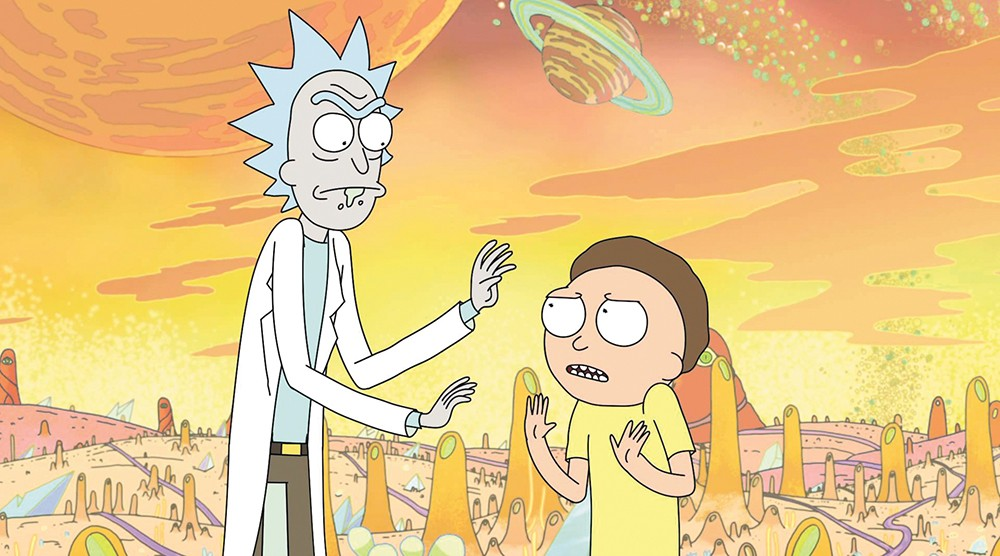 Rick and Morty was created by Community executive producer Dan Harmon.