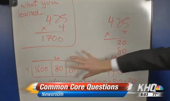"In truth, ""what you learned"" is still required by the Common Core"