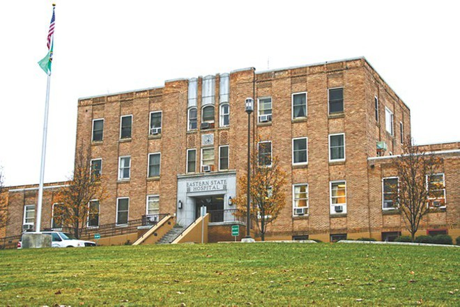 Eastern State Hospital is a psychiatric hospital in Medical Lake, Washington. - CHRIS BOVEY