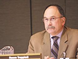 Spokane Public Schools board member Rocky Treppiedi wants the legislature to clarify language banning strikes by public employees, like teachers.