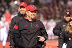 EWU head coach Beau Baldwin will coach his 100th game with the Eagles on Halloween. - GOEAGS.COM