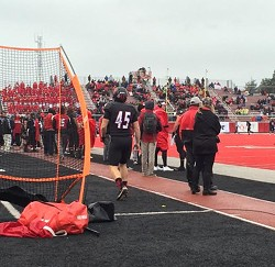 The week after Eastern Washington Eagles' kicker Jordan Da - scalo's game-winning field goal at Northern Colorado, this game was decided by a kicker as well. Just not in the typical way... - MAX CARTER