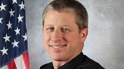 University of Colorado at Colorado Springs police officer Garrett Swasey.