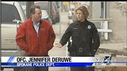 In a 2015 KXLY story, Jennifer DeRuwe speaks with reporter Jeff Humphrey