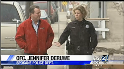 In a 2015 KXLY story, Jennifer DeRuwe speaks with reporter Jeff Humphrey