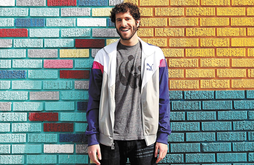 He may not look like it, but comedic rapper Lil Dicky can bust a move.