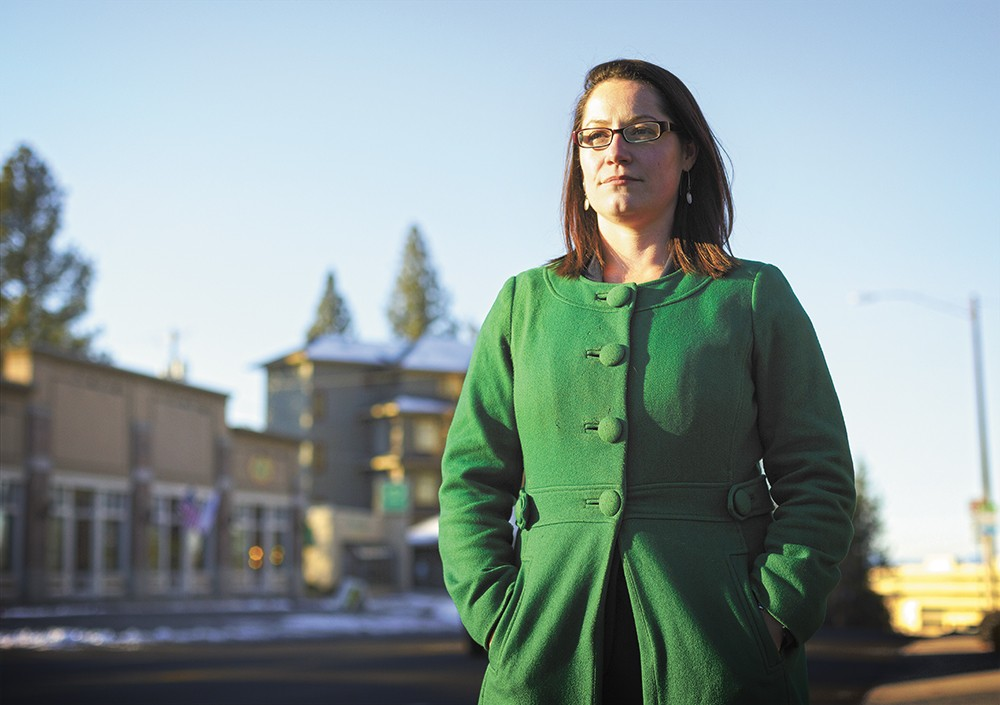 Originally from Spokane, Colleen Melody heads up the state's first civil rights unit. - YOUNG KWAK