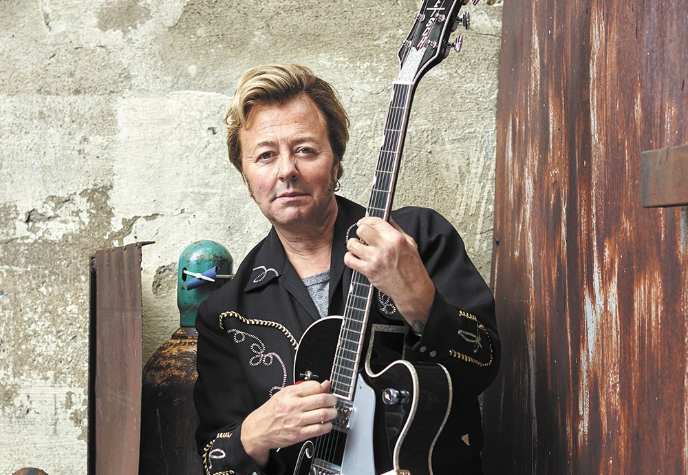 Brian Setzer headlines The Fox the day after Christmas.