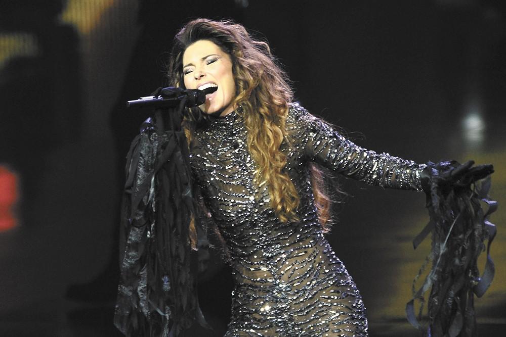 Shania Twain played Spokane Arena in September.