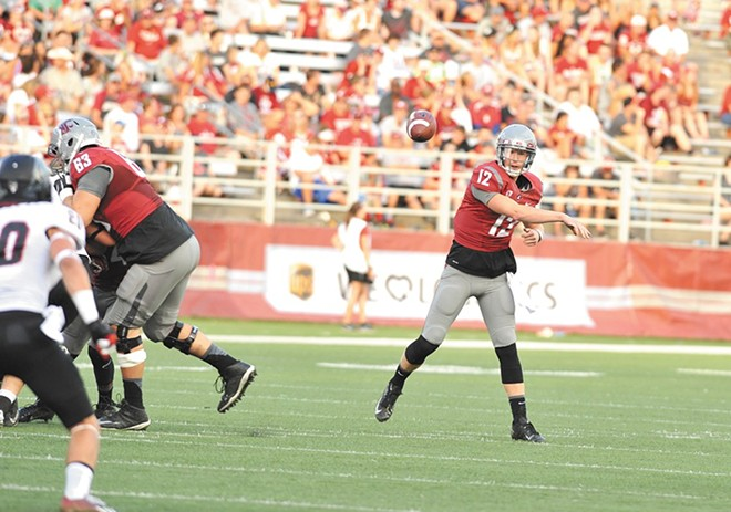 Spokane's Connor Halliday was on target for the NFL before an injury and other issues waylaid him.