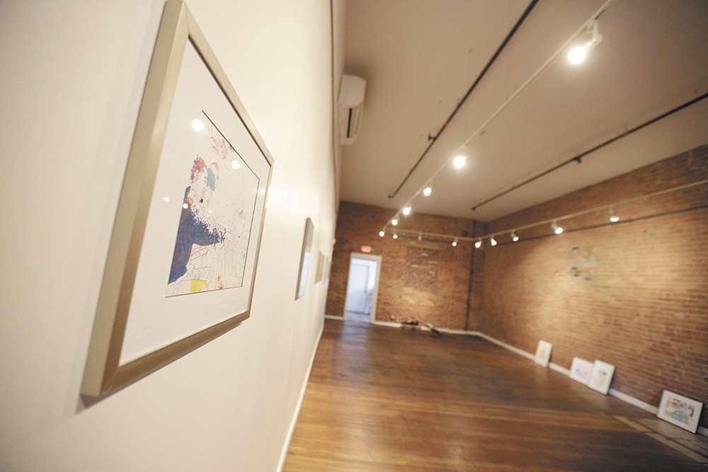 The gallery space at Richmond Art Collective. - YOUNG KWAK