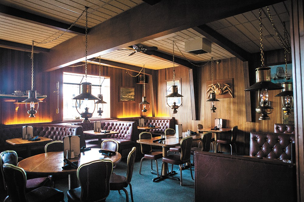 For now, the Beryl's interior is largely unchanged from its 1980s heyday. - KRISTEN BLACK