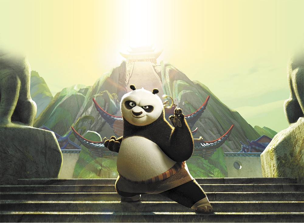 A visually stunning addition to the Panda's tale.