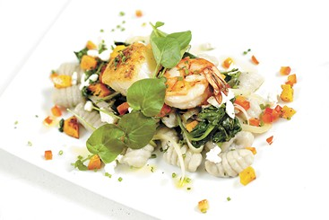 Shrimp and scallop gnocci is on the IRW menu at Scratch. - YOUNG KWAK