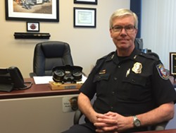 Interim Spokane Police Chief Rick Dobrow.