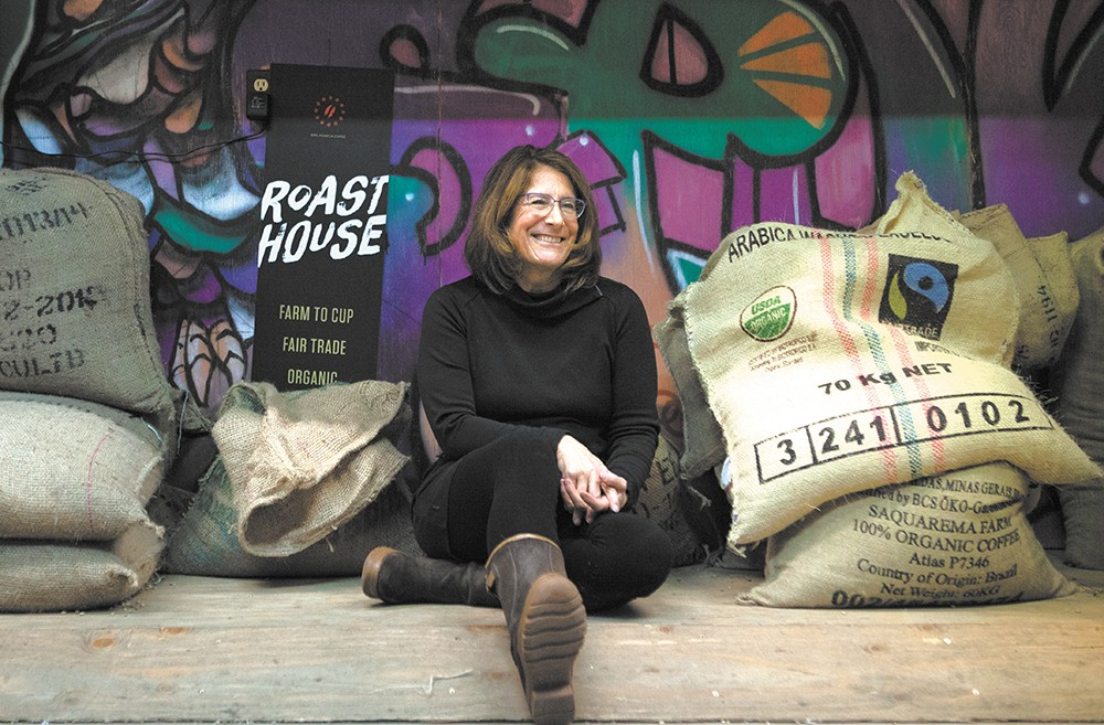 Deborah Di Bernardo, owner of Roast House Coffee, only uses organic, fair trade, shade-grown coffee. - KRISTEN BLACK