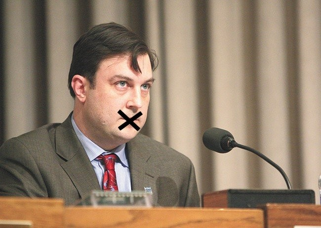 Does City Council President Ben Stuckart have the right to tell the Straub-Condon scandal investigator everything he knows?