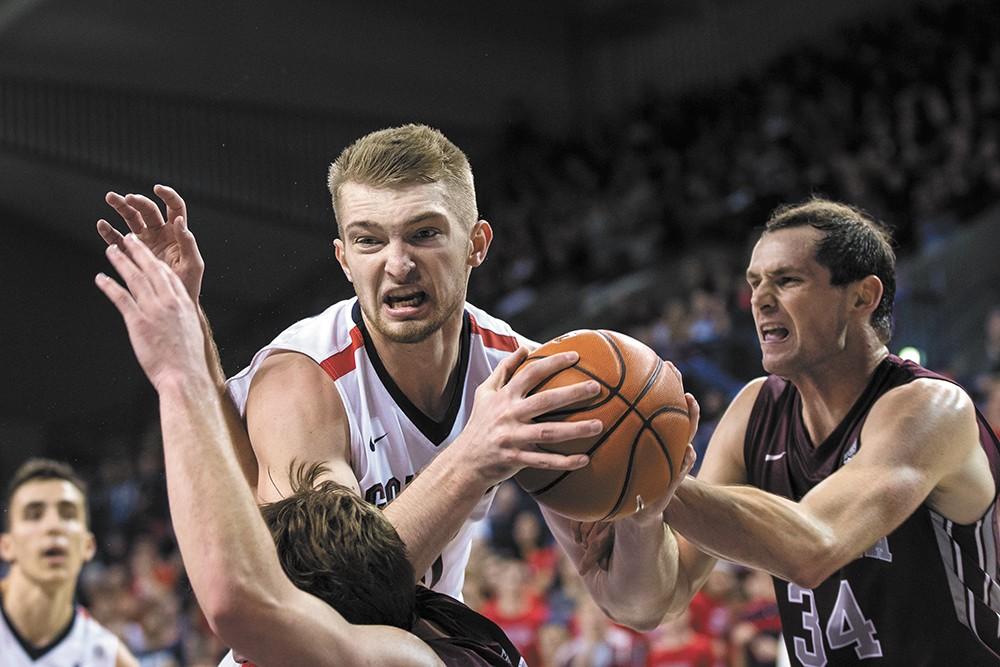 Domantas Sabonis is among the nation's top rebounders. - RYAN SULLIVAN