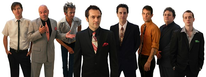 The Cherry Poppin' Daddies canceled a show in Spokane last summer, but they perform at the University of Idaho Saturday as part of the Lionel Hampton Jazz Festival.