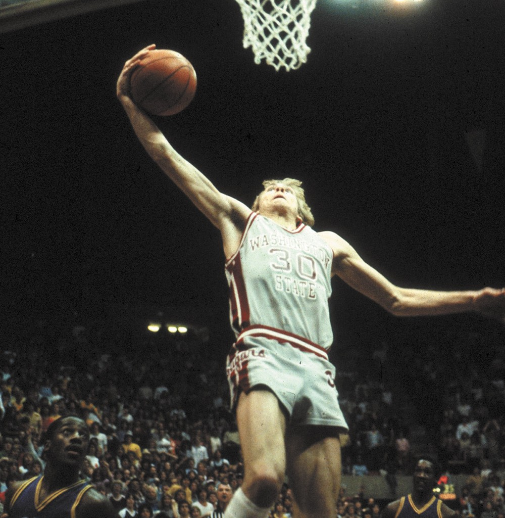 Craig Ehlo was picked in the third round of the 1983 NBA draft after two years at WSU.
