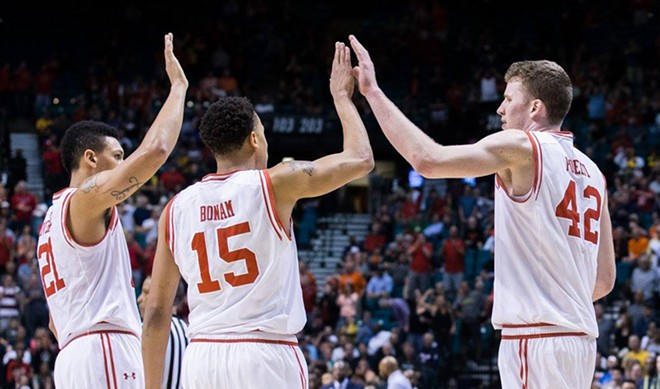 Utah is led by center Jakob Poeltl, right, the Pac-12 Player of the Year - ROB GRAY, UNIVERSITY OF UTAH SPORTS INFORMATION