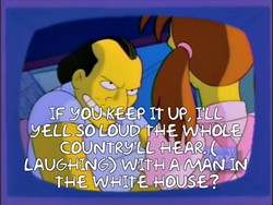 Trump Campaign Manager Corey Lewandowski (artist's visualization) - THE SIMPSONS