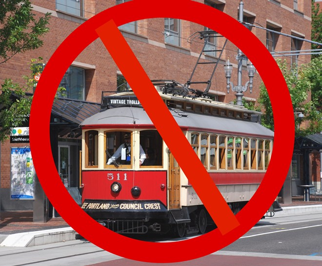 "Only YOU can prevent people from incorrectly referring to the Central City electric bus project as a ""trolley."""