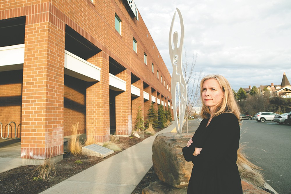 """Kelly Stanford of Group Health: """"People will see additional resources in our community."""" - KRISTEN BLACK"""