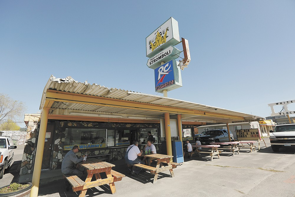 Mike's Burger Royal is a Spokane Valley classic. - YOUNG KWAK