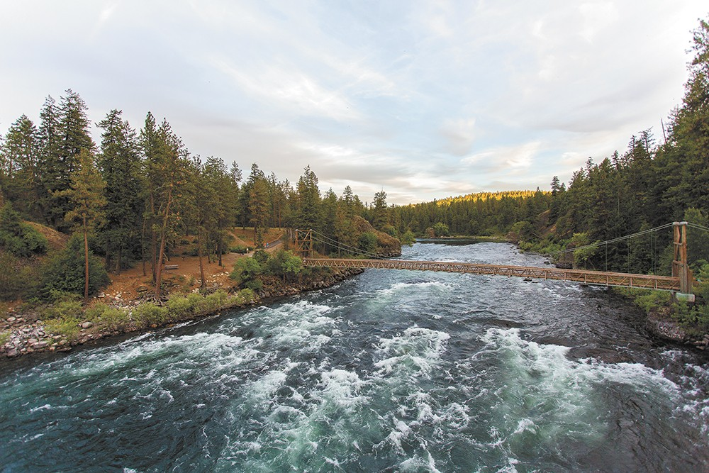 The Spokane River provides habitat for aquatic life, recreation and is a defining feature of the region. But its flow levels have been declining. - MATT WEIGAND