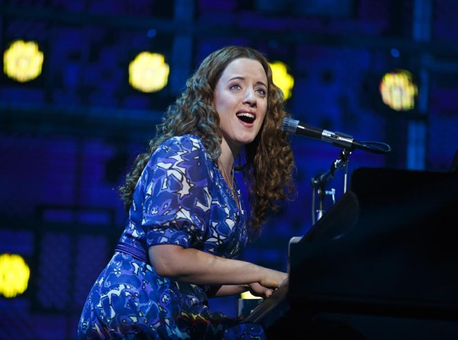 """A scene from """"Beautiful, The Carole King Musical."""""""