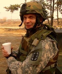 Dr. John Marshall in Afghanistan - COURTESY OF SUZAN MARSHALL
