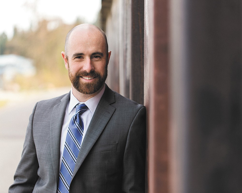 Coeur d'Alene's state Rep. Luke Malek is proud of his fights for mental health crisis centers and education funding — though its won him criticism from groups like the Idaho Freedom Foundation.