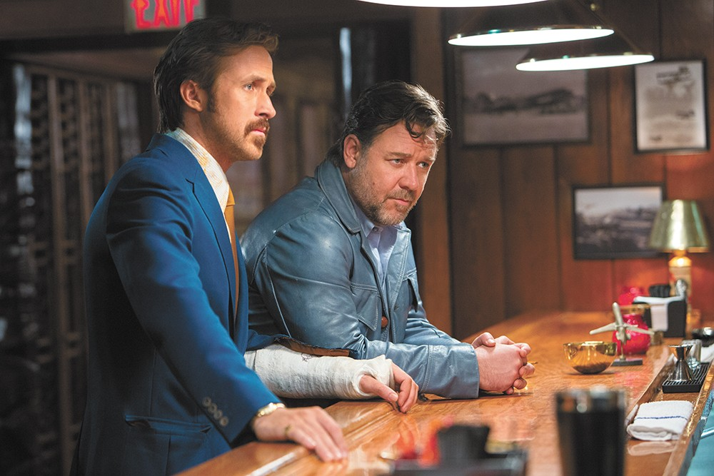 Ryan Gosling and Russell Crowe, together at last.