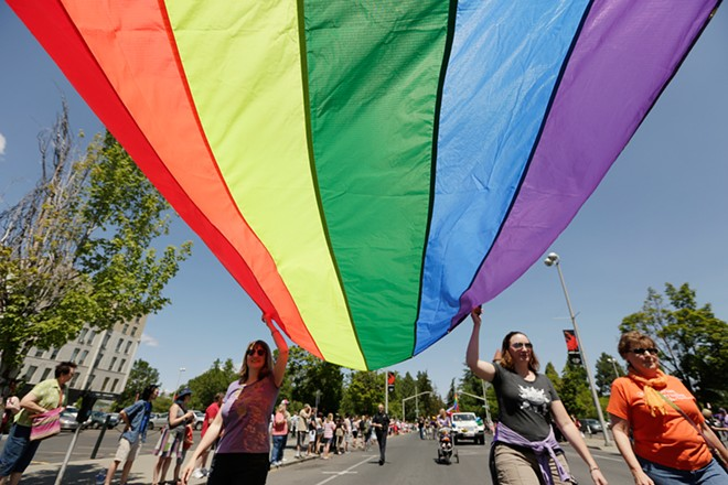 The annual PRIDE Parade and Rainbow Festival is on Saturday.