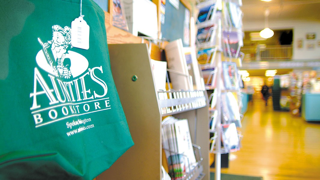 Auntie's Bookstore in downtown Spokane was recently sold.