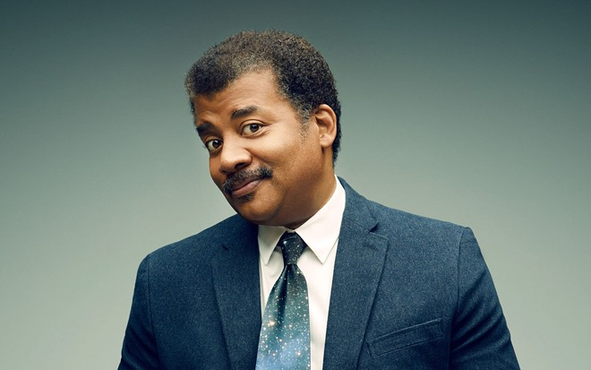Neil deGrasse Tyson comes to town this week.