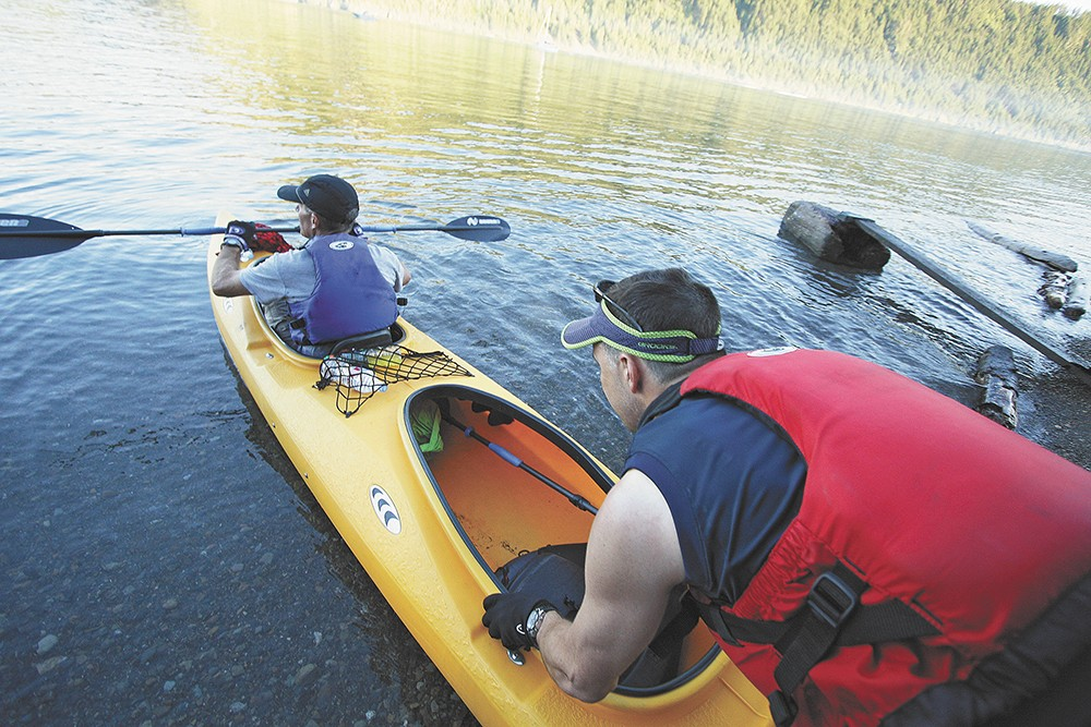 Consider one of the tours put on by Spokane's Parks and Recreation department.