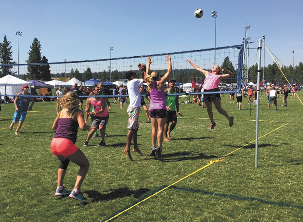 Register for Spike and Dig by July 20.