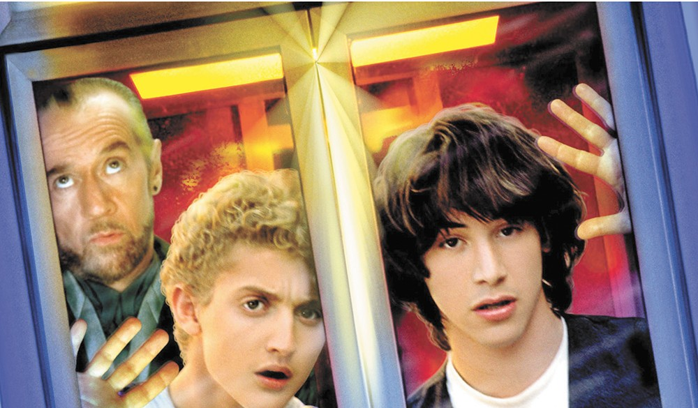 Bill and Ted are back where they belong — on the big screen, Aug. 18, at Olmstead Park in Kendall Yards.