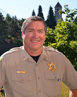 New Spokane Valley police chief Mark Werner - COURTESY SPOKANE COUNTY SHERIFF'S OFFICE