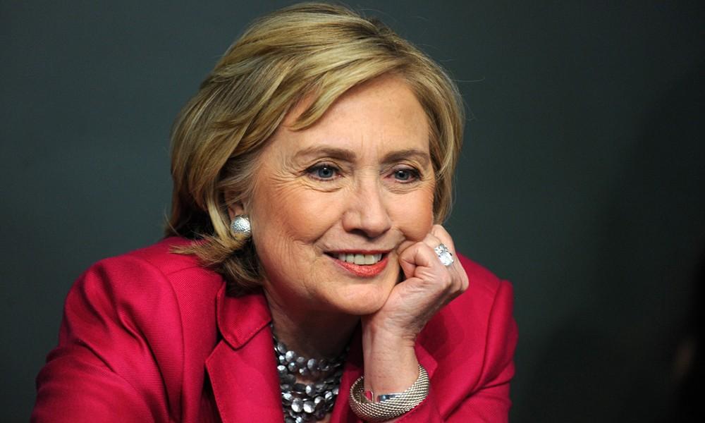 "Hillary Clinton to Trump: ""Delete your account."""