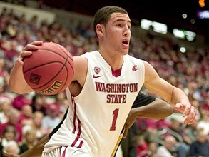 Klay then: a star for the WSU team during his time there.