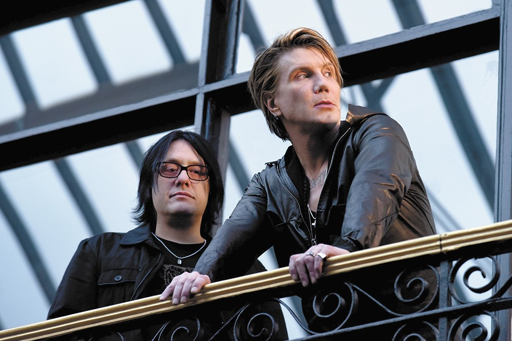 Now just a two-piece, the Buffalo, New York, act Goo Goo Dolls still make music, with the help of others.