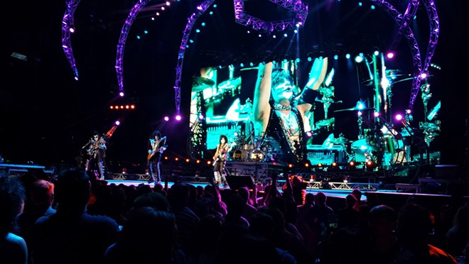 KISS performing in the summer of 2014 - DAN NAILEN