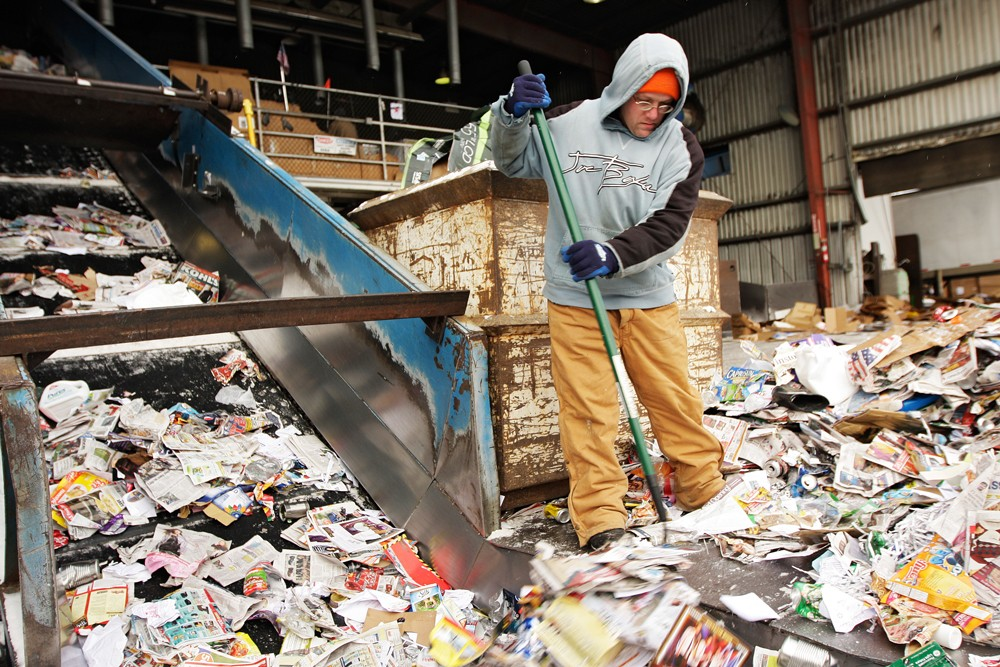 Is single-stream recycling the answer? - YOUNG KWAK
