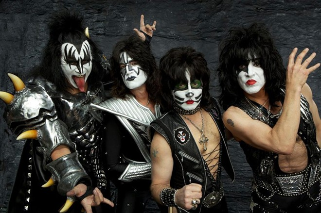 """Gene Simmons, when interviewed by the Inlander  last week, had this to say about  his band's upcoming show: """"Your girlfriend's been lying to you all these years, size DOES count, and we're bringing all of it."""""""