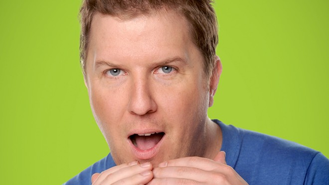 Nick Swardson headlines the Spokane Comedy Club this week.